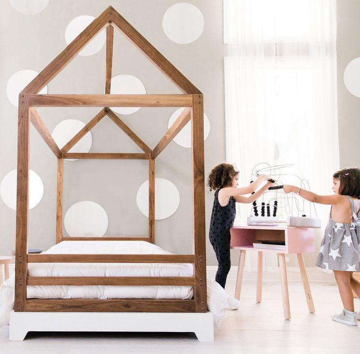 Domo Bed Canopy Bed Frame Design Kids Bedroom Furniture Luxury