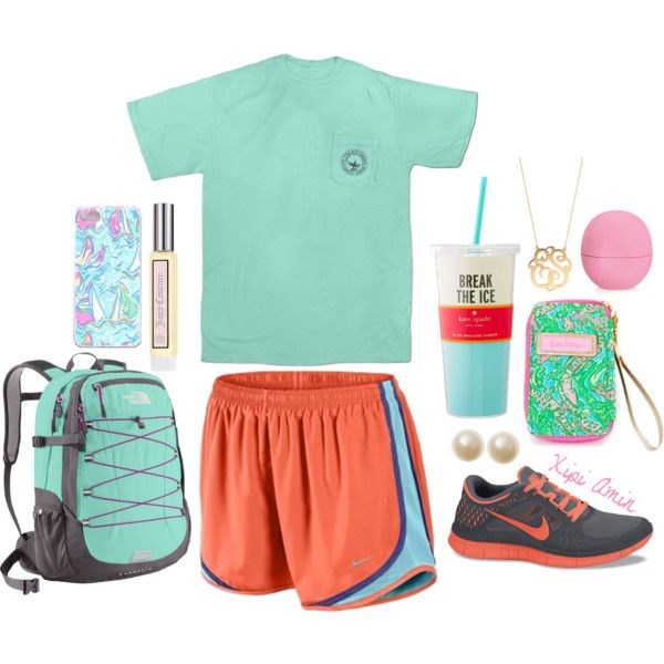 A fashion look from May 2014 featuring NIKE, NIKE shoes and The North Face backpacks. Browse and shop related looks.