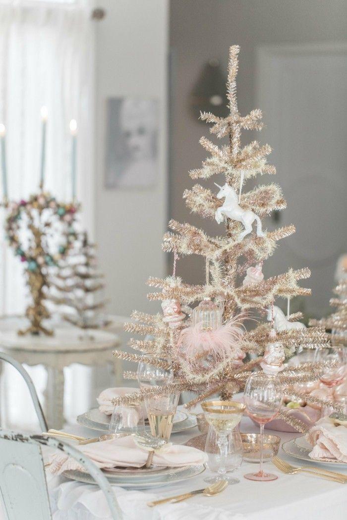 Ideen und tipps weihnachtsdeko in rose gold #Design #Weihnachten