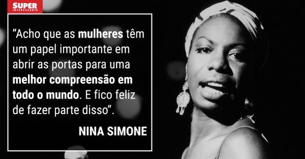 Novos Esquadros: Nina Simone: Uma voz negra a favor dos direitos civis de sua comunidade