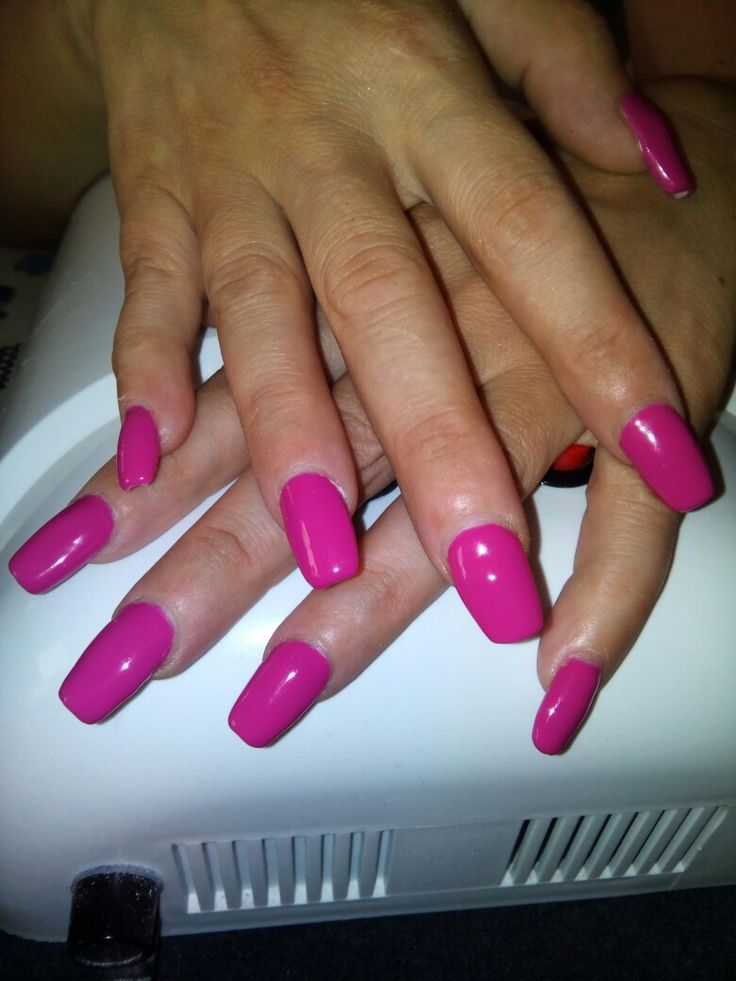 Silcare gel color LED provocative Pink