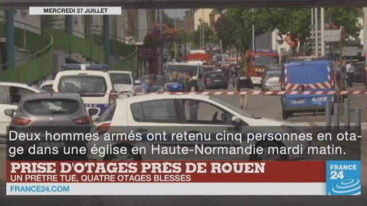 Enquête sur l'attentat de Saint-Étienne-du-Rouvray, attentat en #Somalie, convention Démocrate aux #États-Unis, départ des #JMJ à #Cracovie... Le point sur l'actualité en #VIDÉO