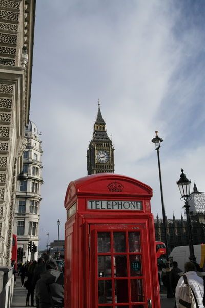 'Telefonzelle London mit Big Ben' von stephiii bei artflakes.com als Poster oder Kunstdruck $15.68