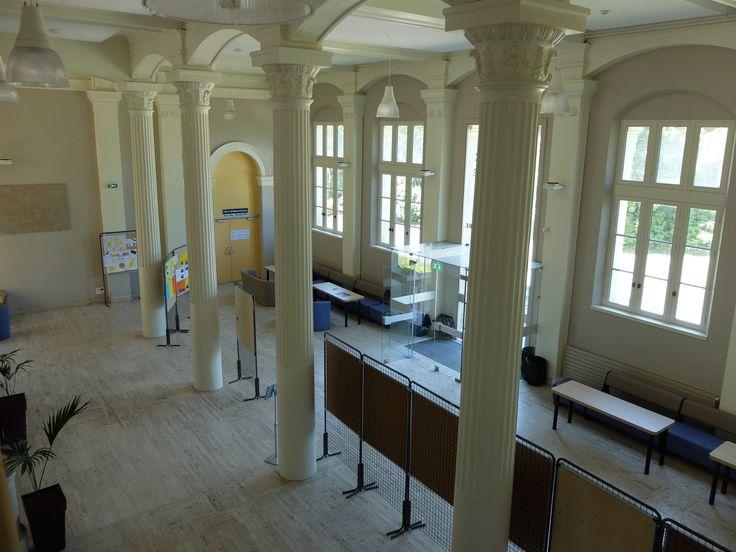 Intérieur du Palais universitaire - UCO, Angers- Photo MNC