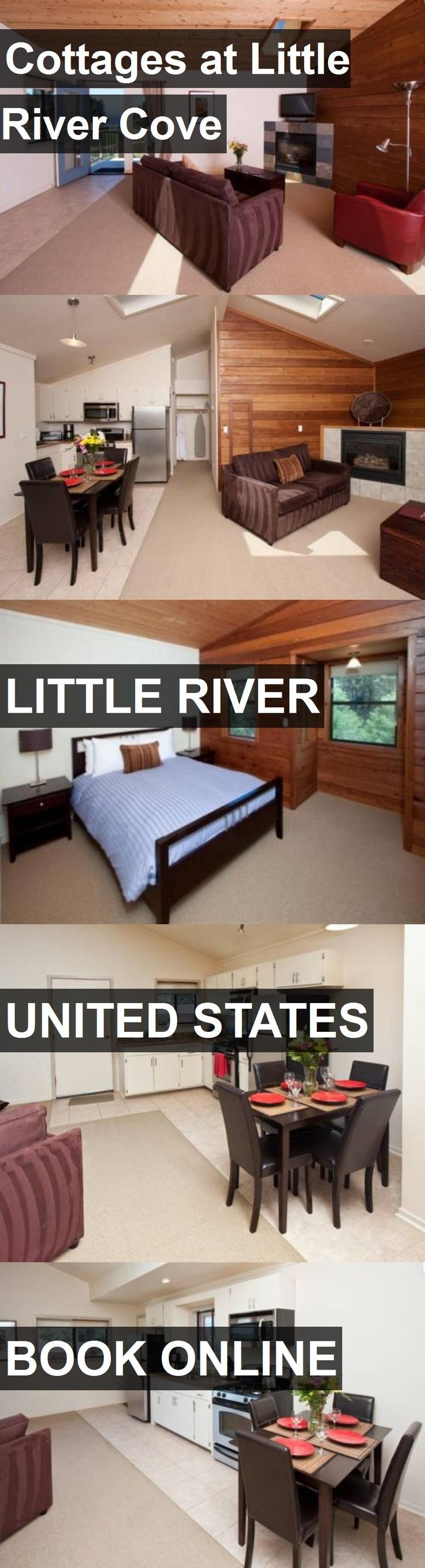 Hotel Cottages at Little River Cove in Little River, United States. For more information, photos, reviews and best prices please follow the link. #UnitedStates #LittleRiver #travel #vacation #hotel