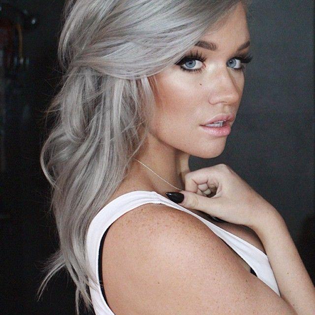 Grey hair trend spring summer 2015 - Beauty