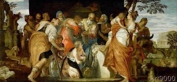 Paolo+Veronese+-+Die+Salbung+Davids