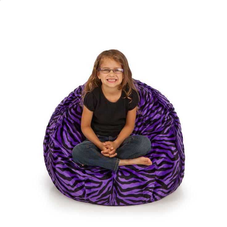 22 best images about small bean bag chairs on pinterest vinyls purple zebra and blue. Black Bedroom Furniture Sets. Home Design Ideas