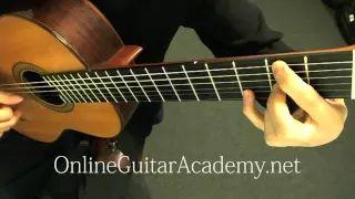 clare de lune guitar - YouTube