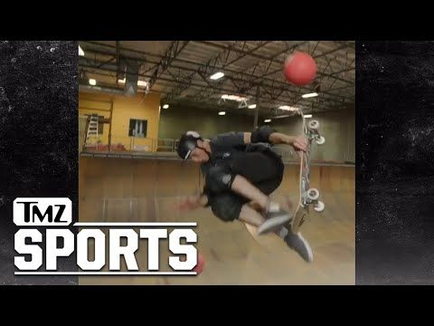 Tony Hawk Wants LeBron James to Help Him Dominate Ben Stiller's Dodgeball Game   TMZ Sports