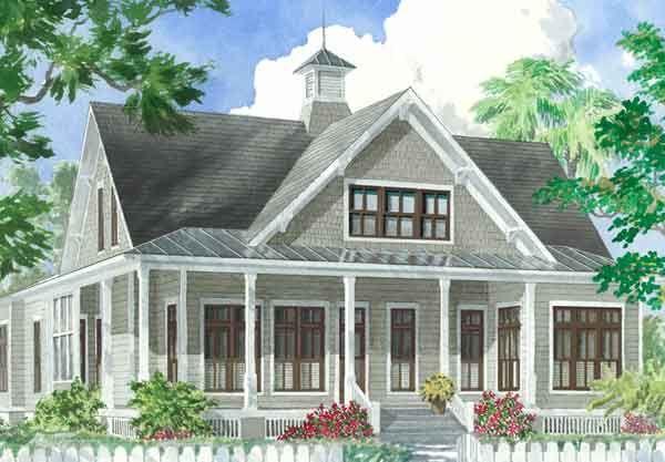 Tucker Bayou - St. Joe Land Company | Southern Living House Plans