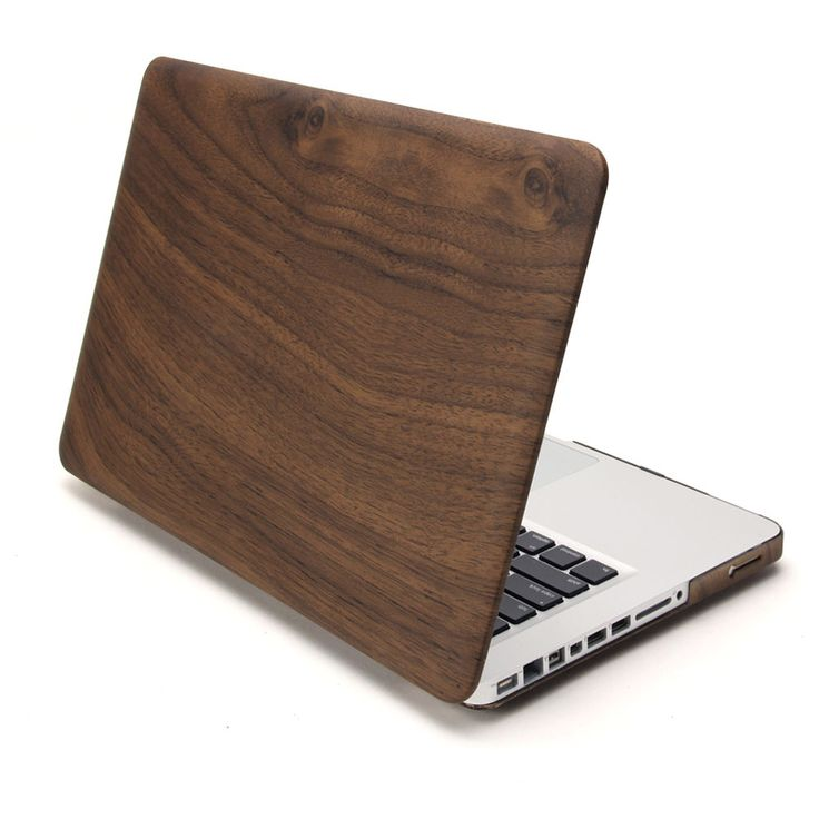 Hard Case Print Frosted Wooden Pattern For Apple MacBook Pro 13 Inch