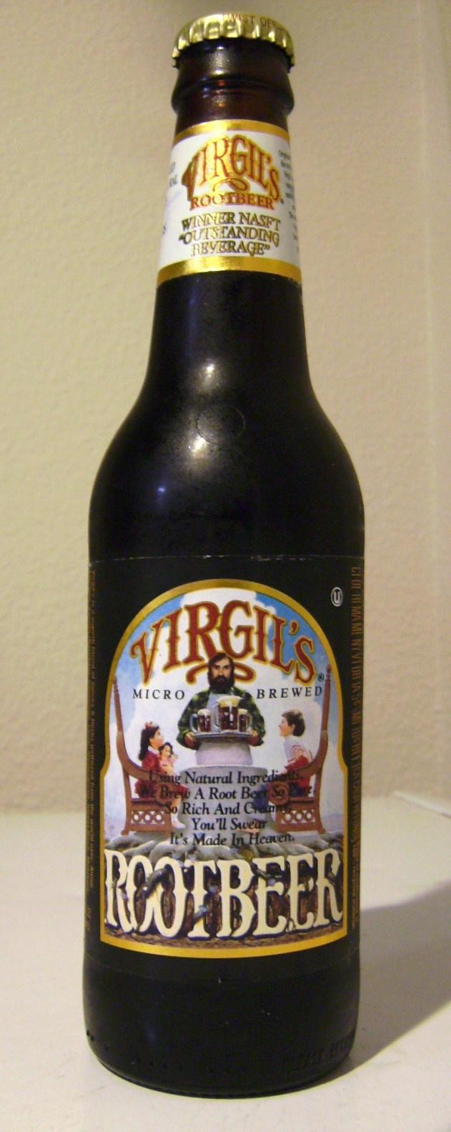 The best root beer made by humans.  #rootbeer #virgils