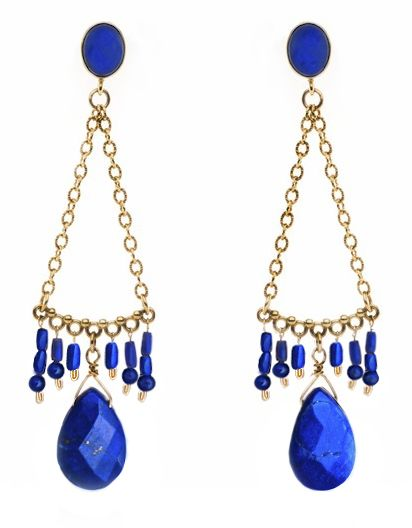 Charlotte Penman / Tribal Chandeliers / Lapis Lazuli