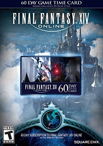 Final Fantasy XIV Online: 60 Day Time Card [Online Game Code] Square Enix