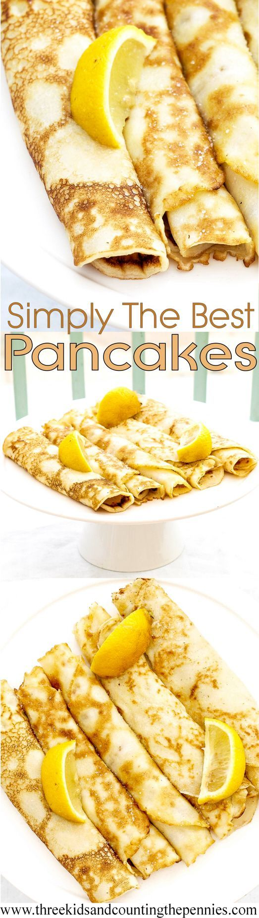 This batter makes such beautifully light pancakes, I struggle to stop at just one batch!