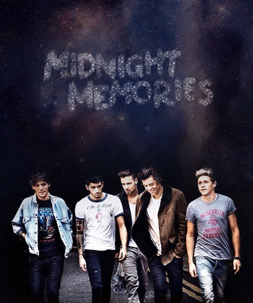 You and me baby stumbling through the street singing MIDNIGHT MEMORIES.