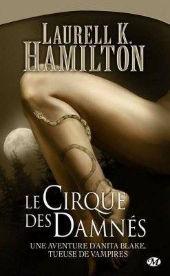 Couverture de Anita Blake, Tome 3 : Le Cirque des Damnés