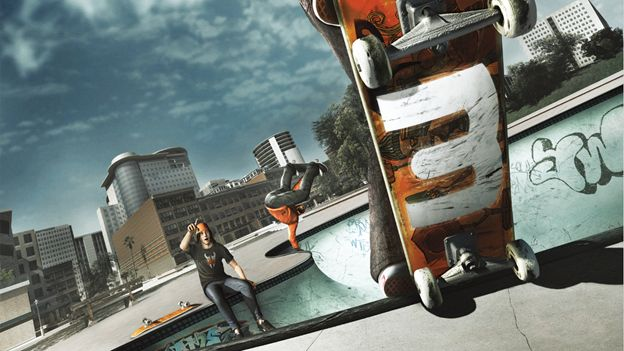 Skate 3 is now backwards compatible on XB1 https://majornelson.com/2016/11/10/xbox-one-backward-compatibility-turns-one-skate-3-available-today/