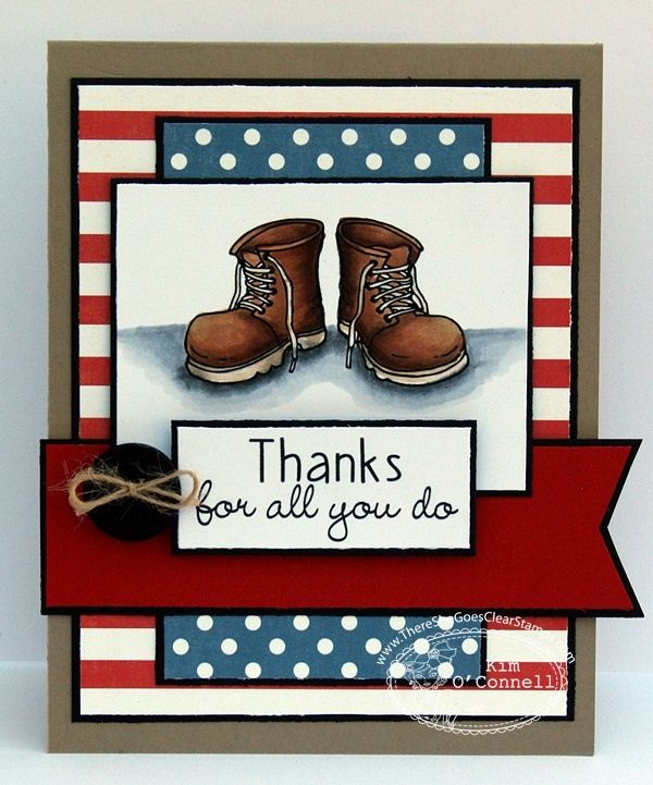 #patriotic card. by Paper Perfect Designs: Boot Camp /Get in Gear TSG Blog Hop Challenge. For My handmade greeting cards visit me at My Personal blog: http://stampingwithbibiana.blogspot.com/