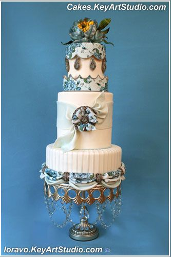 Victorian Wedding CAKES | Modern-Victorian -wedding-cake-01 | Flickr - Photo Sharing!