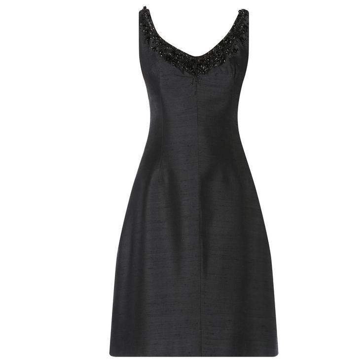 Jean Louis Scherrer black dress, circa 1965   From a collection of rare vintage…