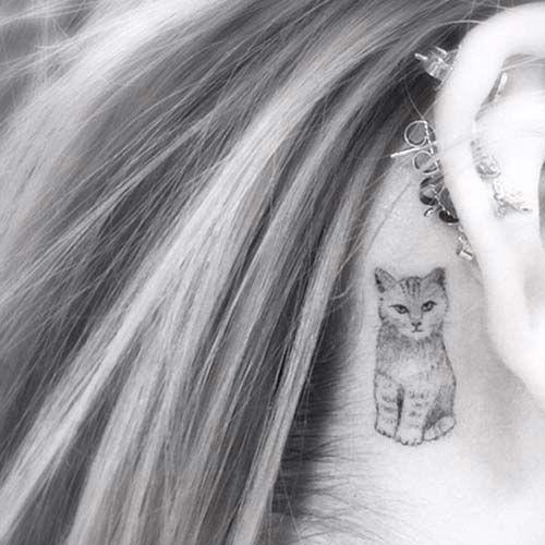 kedi dövmeleri cat tattoos 54