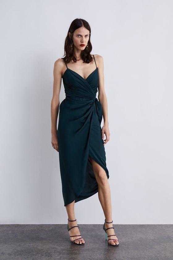 0d4cf48b ZARA - WOMAN - DRAPED DRESS | Dress Like You Mean it in 2019 ...