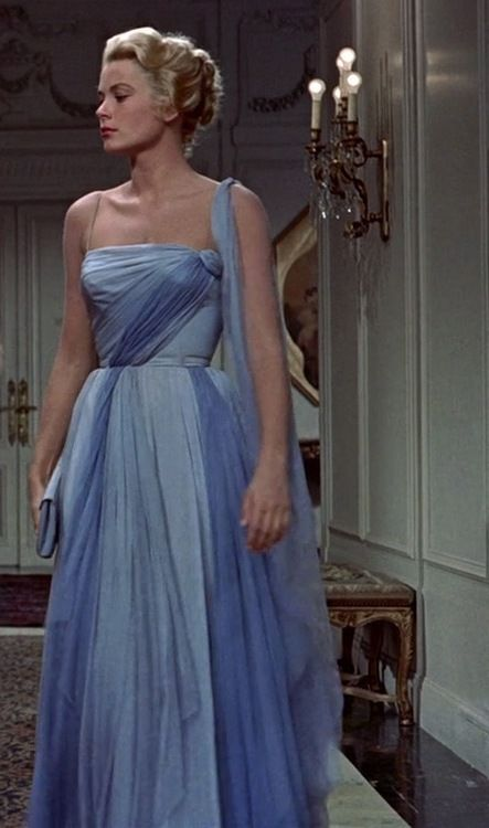 Grace Kelly, To Catch a Thief 1955. #GraceKelly #PrincessGrace
