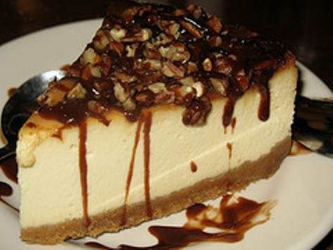 Hands down the BEST Turtle Cheesecake you will ever eat. I have made it multiple times and everybody loves it! Its also easy to make!