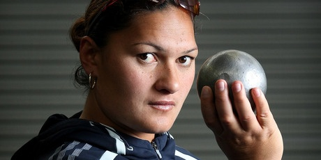 New Zealand's Valerie Adams