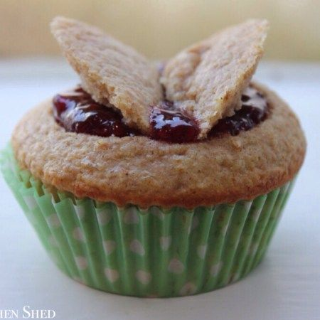 Clean Eating Raspberry Vanilla Butterfly Cakes – The Kitchen Shed