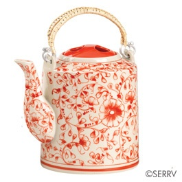 Loving this ...Red Blossom Teapot - Fair Trade Winds