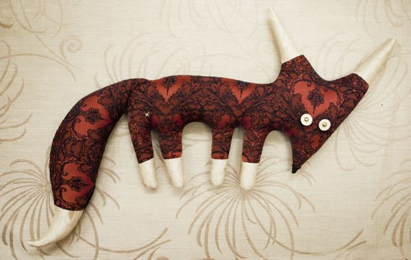 FOXES by PAKO Toys, via Behance