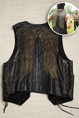 "A Look-Alike of Daryl�s Winged Leather Vest: | 27 Gifts Only True ""Walking Dead"" Fans Will Appreciate"