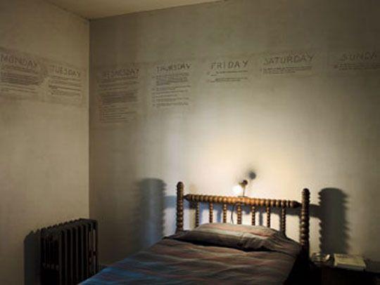 Faulkner's bedroom.