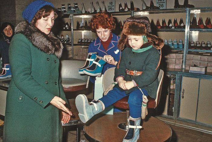 Мода в СССР 70-80 годов