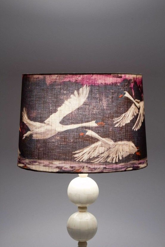 .flying goose lamp shade