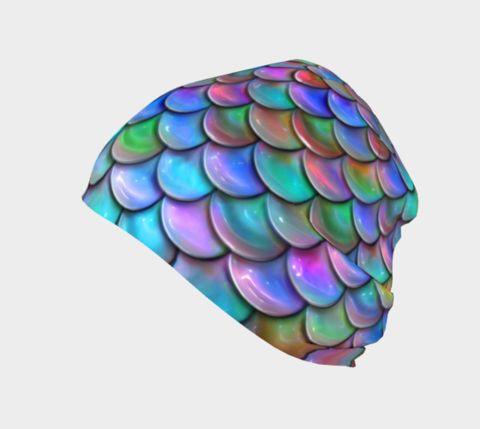 Ocean Rainbow Mermaid Toque/Beanie