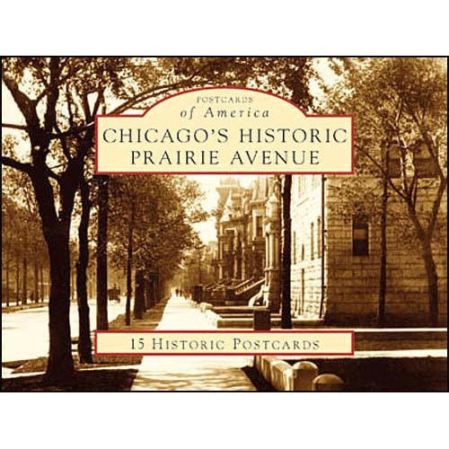 Prairie Avenue evolved into Chicago's most exclusive residential street during the late 19th century, when the city's wealthiest and most influential citizens built lavish homes here. The area began to decline around 1900, but experienced a renaissance in the late 20th century.  $6.39  http://www.calendars.com/Chicago/Chicagos-Historic-Prairie-Avenue-Postcards/prod126859/?categoryId=cat00750=cat00750#