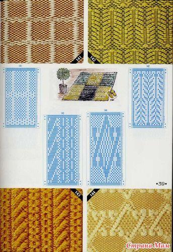 knitting pattern II TOYOTA Weaving 3