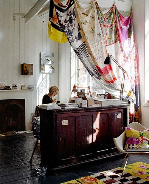 Awesome Dorm Room Curtain Ideas