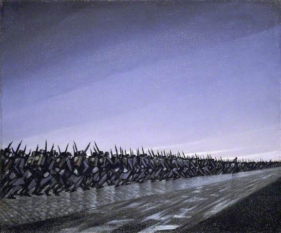 By Christopher Nevinson Date Painted: 1915 From: Birmingham Museums and Art Gallery