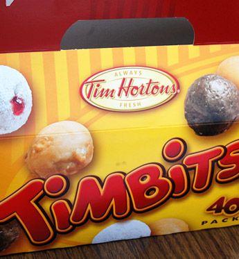 Tim Horton's doughnut holes