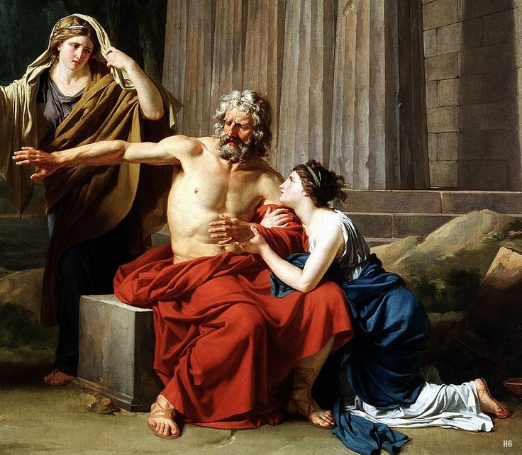 The character changes involving antigone and creon in antigone a play by sophocles