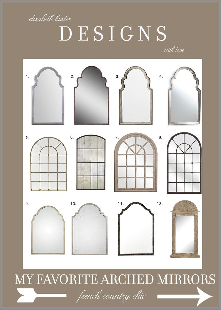 Check out my favorite arched mirrors from Amazon, Ballard Designs, and more. Find your beautiful arch mirror to lengthen and shape your room!