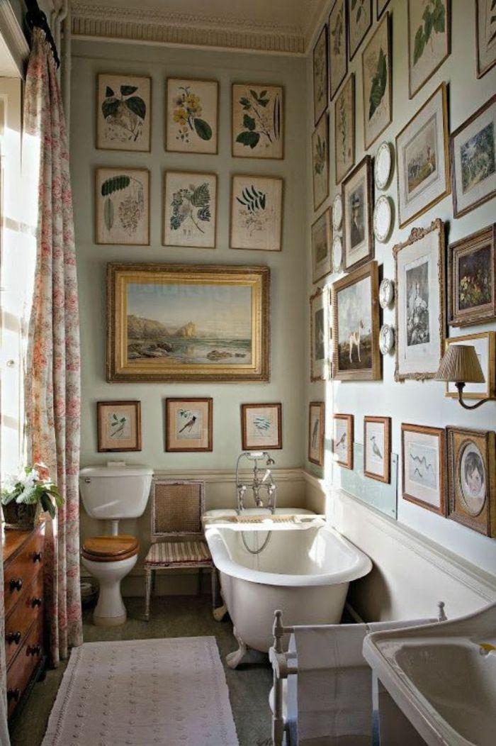 M s de 25 ideas incre bles sobre ba os vintage en - Laminas para cuartos de bano ...