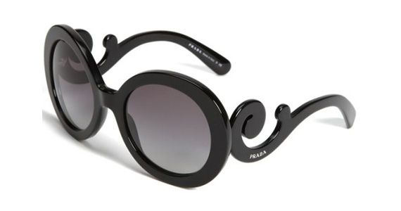 Prada Swirled Sunglasses..If only I had a reason to really own these :p