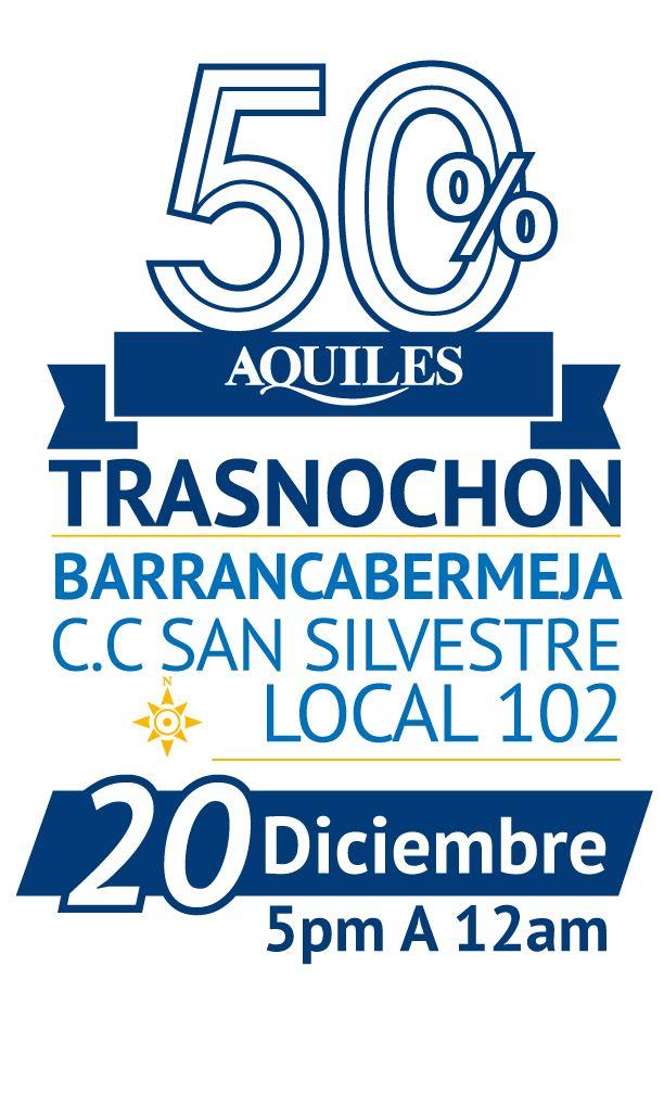 Gran Trasnochon C.C. San Silvestre - Barrancabermeja. El 20 de Diciembre de 2014 de 5pm A 12am.