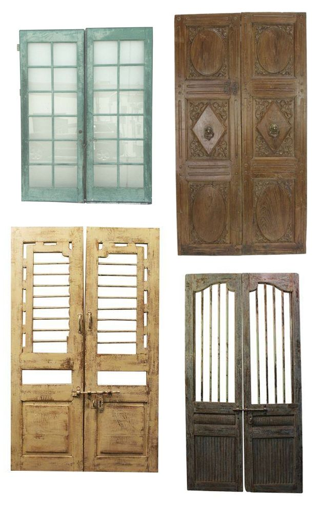 Using Reclaimed Doors - Find out how on The Jungalow!